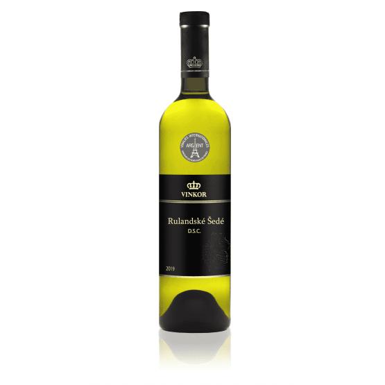 Biele víno Rulandské šedé 2019 - vinárstvo Vinkor Malé Karpaty