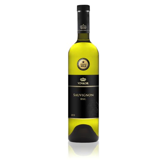 Biele víno Sauvignon 2019 - vinárstvo Vinkor Malé Karpaty