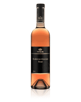 Ružové víno Svätovavrinecké Rosé 2020 - vinárstvo Vinkor Malé Karpaty