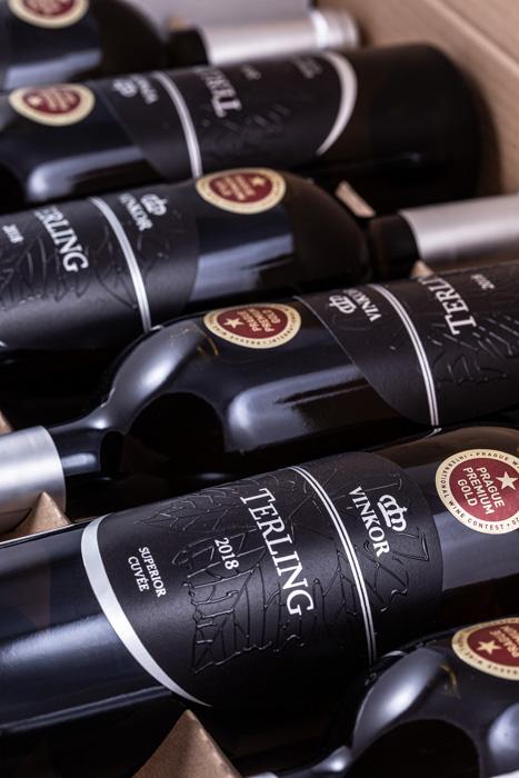 Biele víno Cuvée Terling blanc 2018 - vinárstvo Vinkor Malé Karpaty